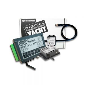 AIS transponder with alarms, VHF splitter, WiFi and NMEA 2000 connectivity
