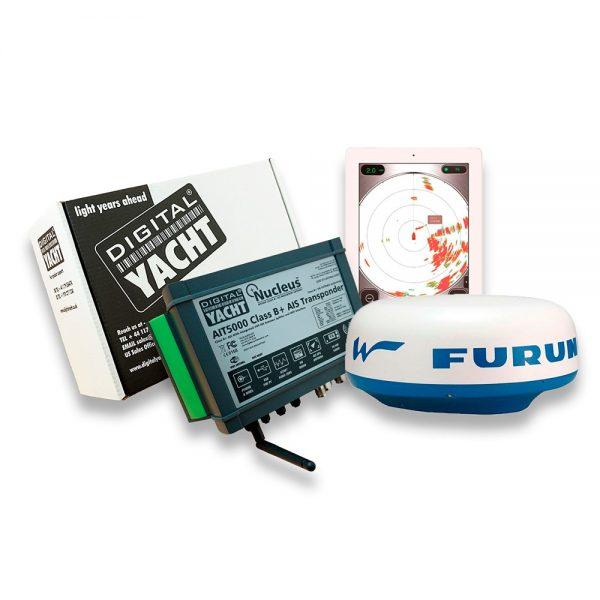 Furuno radar and AIS transponder (website)